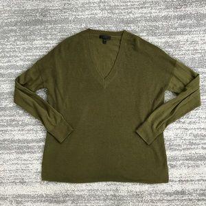 J. Crew Green Long Sleeve Sweater